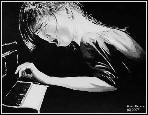 Hiromi Uehara by marco